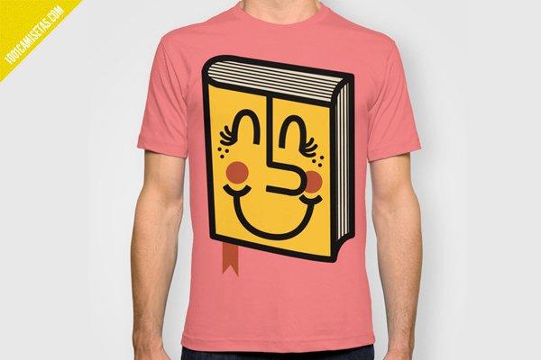 Camiseta libro