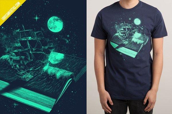 Camisetas libros