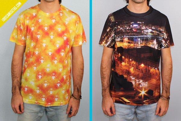 Hacer camisetas fullprint