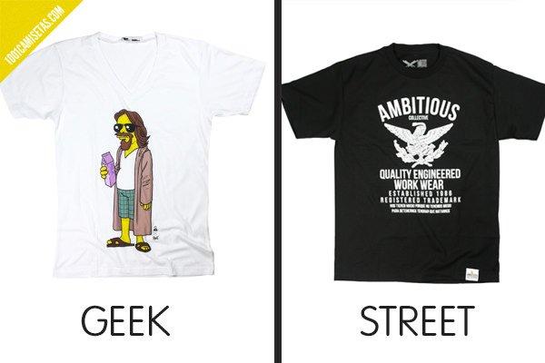 Camiseta geek street
