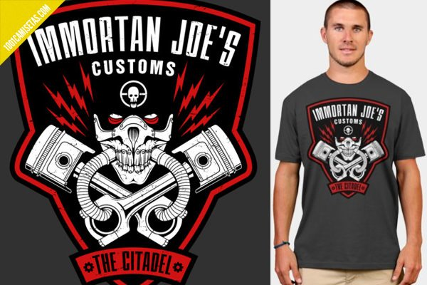Camiseta immortan joe