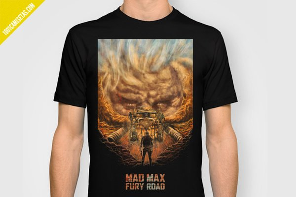 Camiseta mad max fury road