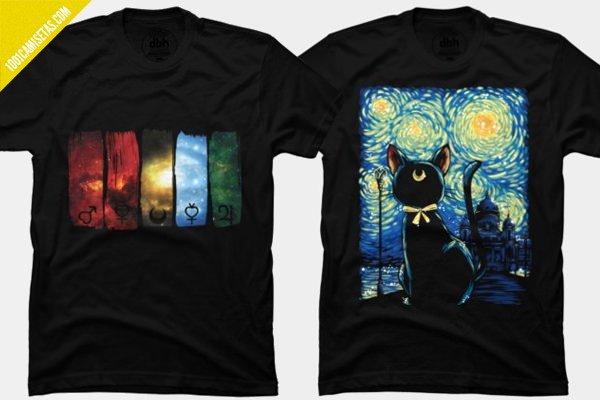 Camiseta sailor moon