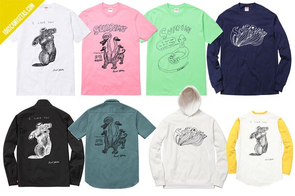 Camisetas daniel johnston