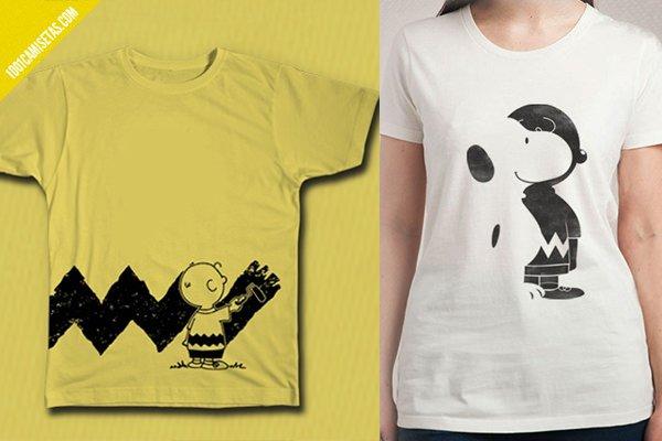 Camisetas de snoopy