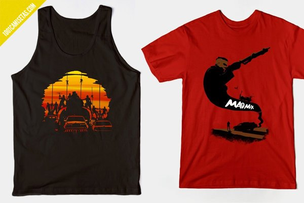 Camisetas fury road mad-max