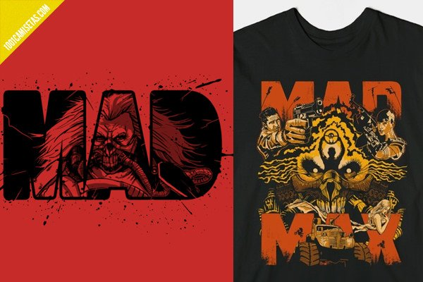 Camisetas immortan joe