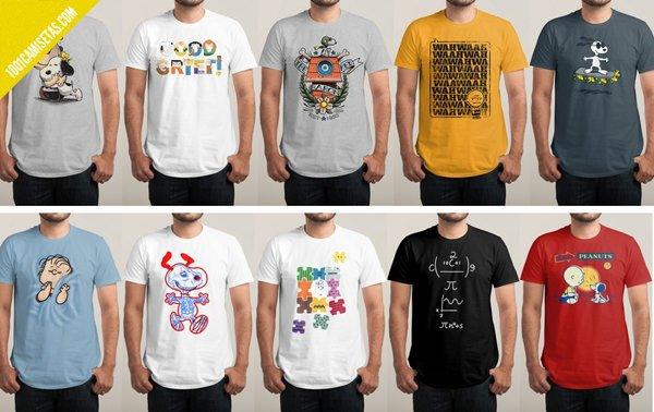 Camisetas snoopy