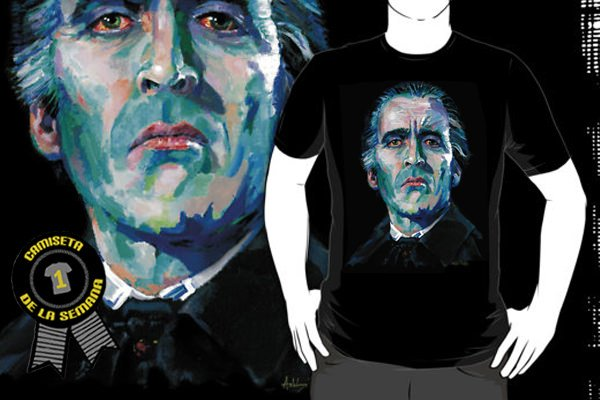 Camiseta Christopher Lee Dracula