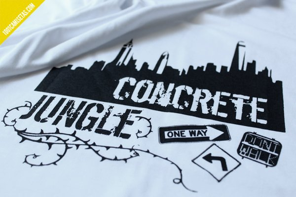 Camiseta concrete jungle
