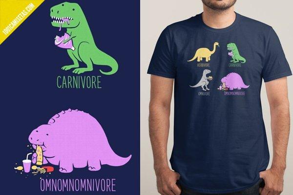 Camiseta dinosaurios divertida