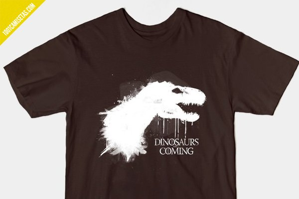 Camiseta Game of Thones dinosaurios