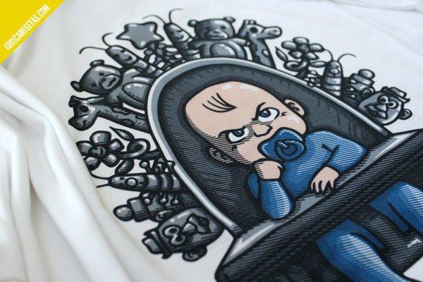 Camiseta ibogeek juego de tronos