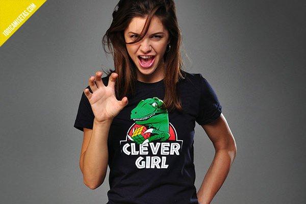 Camiseta Jurassic Park Clever Girl