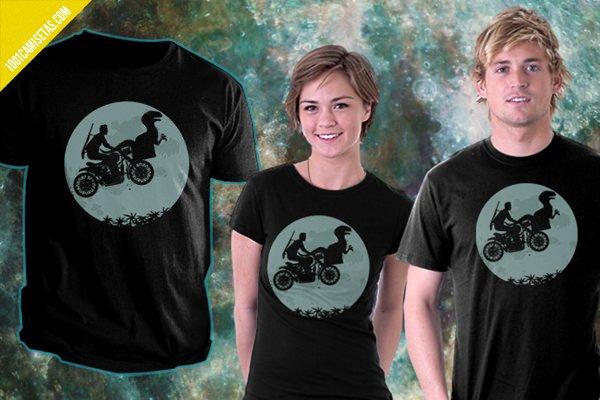 Camiseta jurassic world ET
