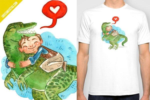 Camiseta jurassic world velociraptor