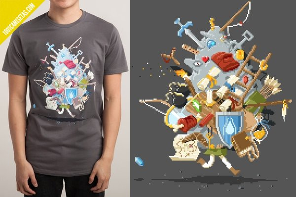 Camiseta zelda threadless