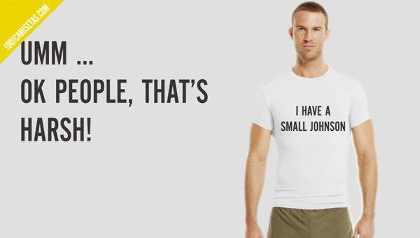 Camisetas con mensaje insulto