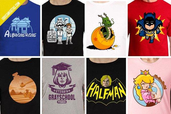 Camisetas frikis ibogeek