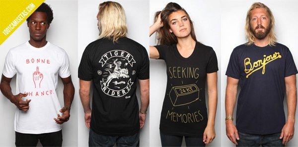 Camisetas MNKR