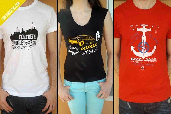 Camisetas tintalshop