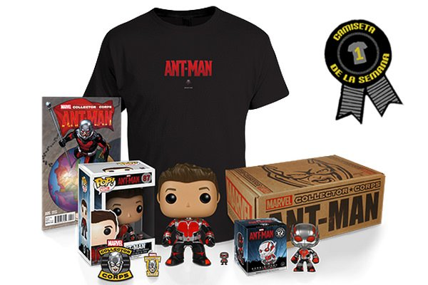 Camiseta marvel ant man