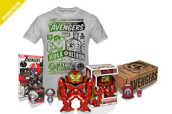 Camiseta marvel collector corps