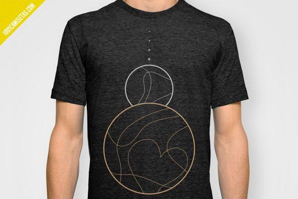 Camiseta pluton lunas