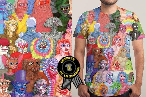 Camiseta semana ciberpunx