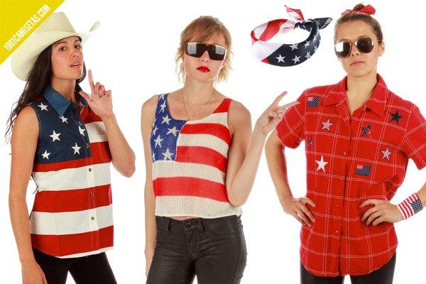 Camisetas 4 de julio