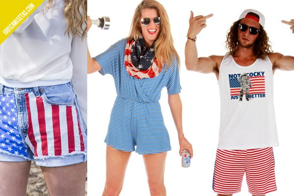 Camisetas independence day