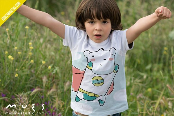 Camisetas infantiles pintadas