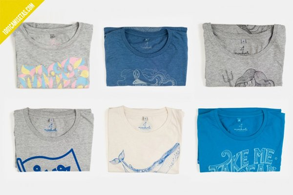 Camisetas Marabunta