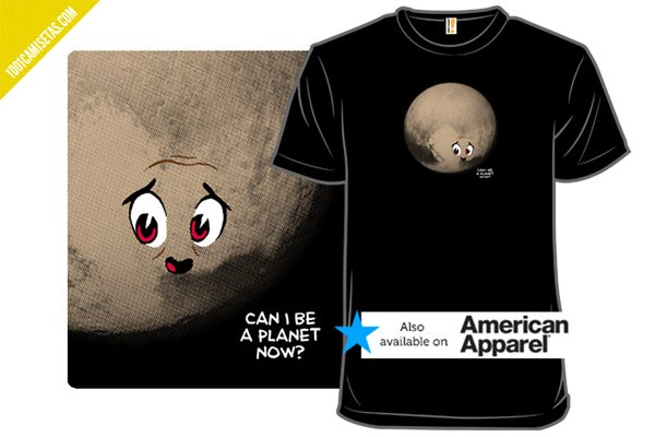 Camisetas pluton