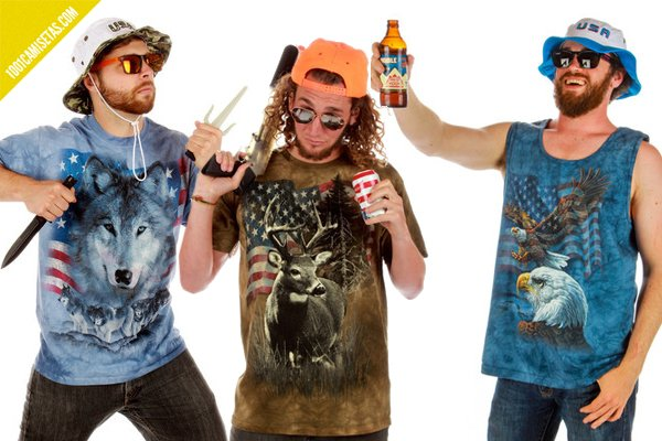 Camisetas rednecks