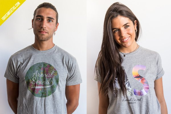Camisetas arenal sound
