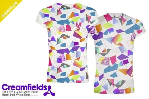 Camisetas creamfields