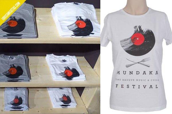 Camisetas mundaka festival