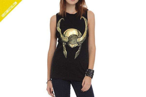 Camiseta casco loki