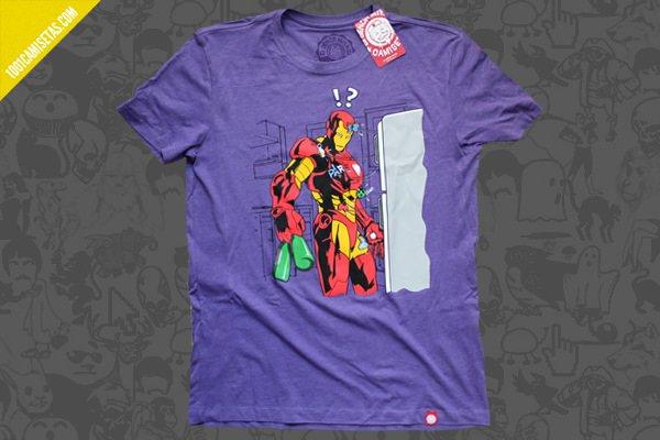 Camiseta iron man sr miyagi