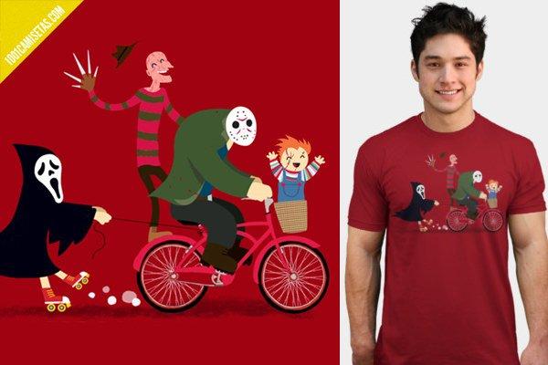 Camiseta terror wes craven
