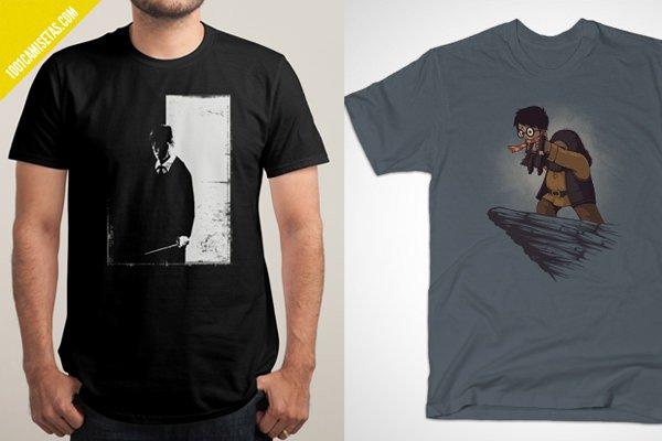 Camisetas harry potter