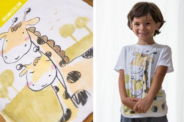 Camisetas infantiles muralestudio