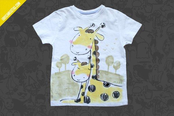 Remeras pintadas a mano infantiles imagui - Pintar camisetas ninos ...