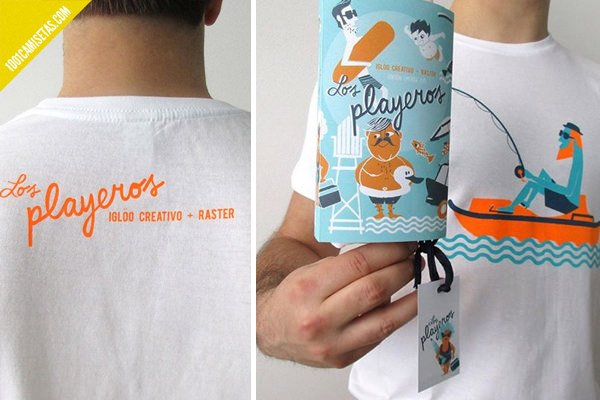 Camisetas packaging