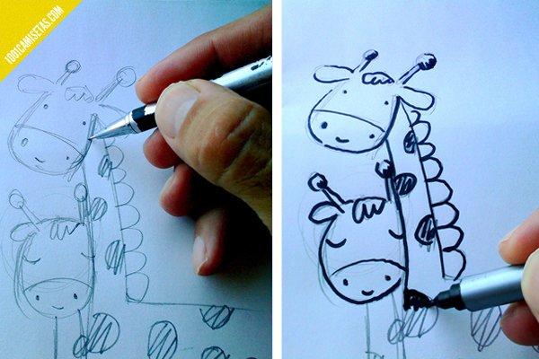 Boceto a lápiz