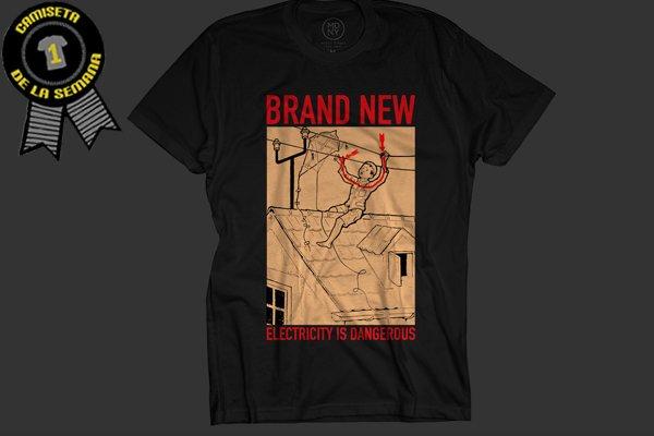 Camiseta brand new