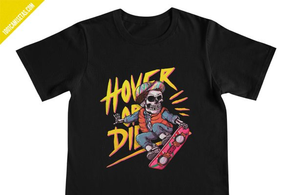 Camiseta hoverboard marty mcfly