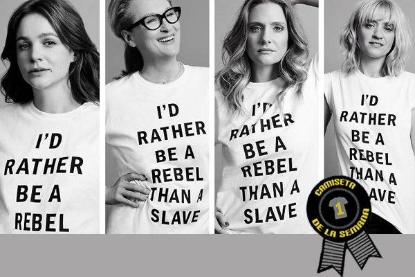 Camiseta semana suffragettes