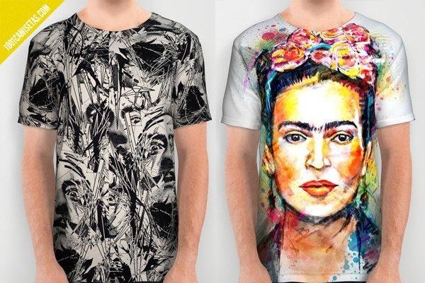 Camisetas full print dali